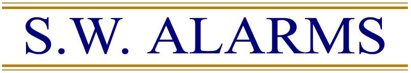 S.W. Alarms Logo